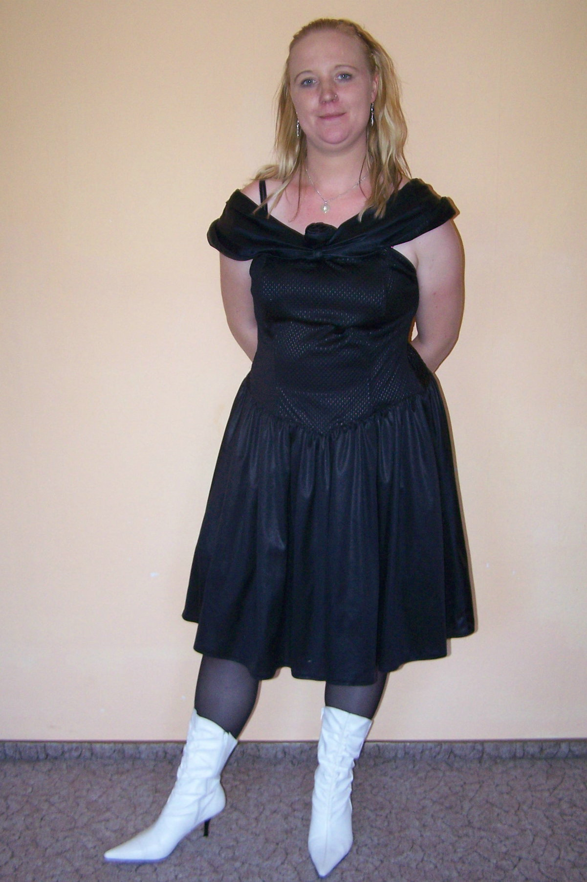 hogtied black: