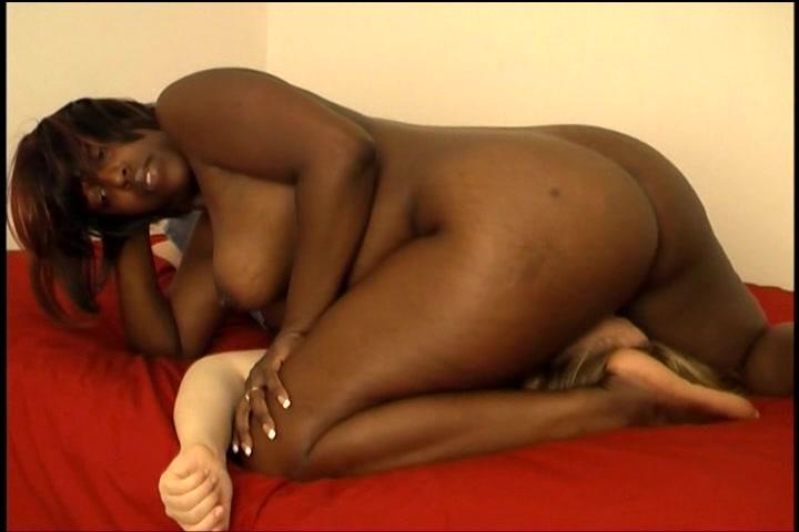Black girl facesitting