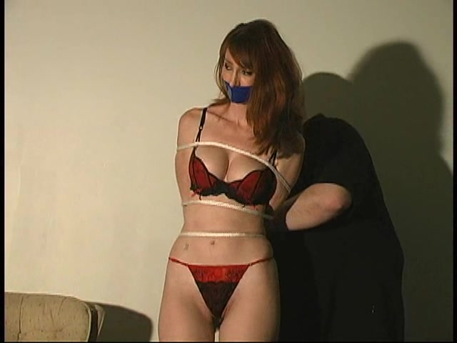image Chair tied cleave gagged when a stranger