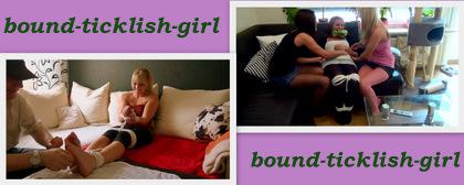 Bound ticklish girl aff